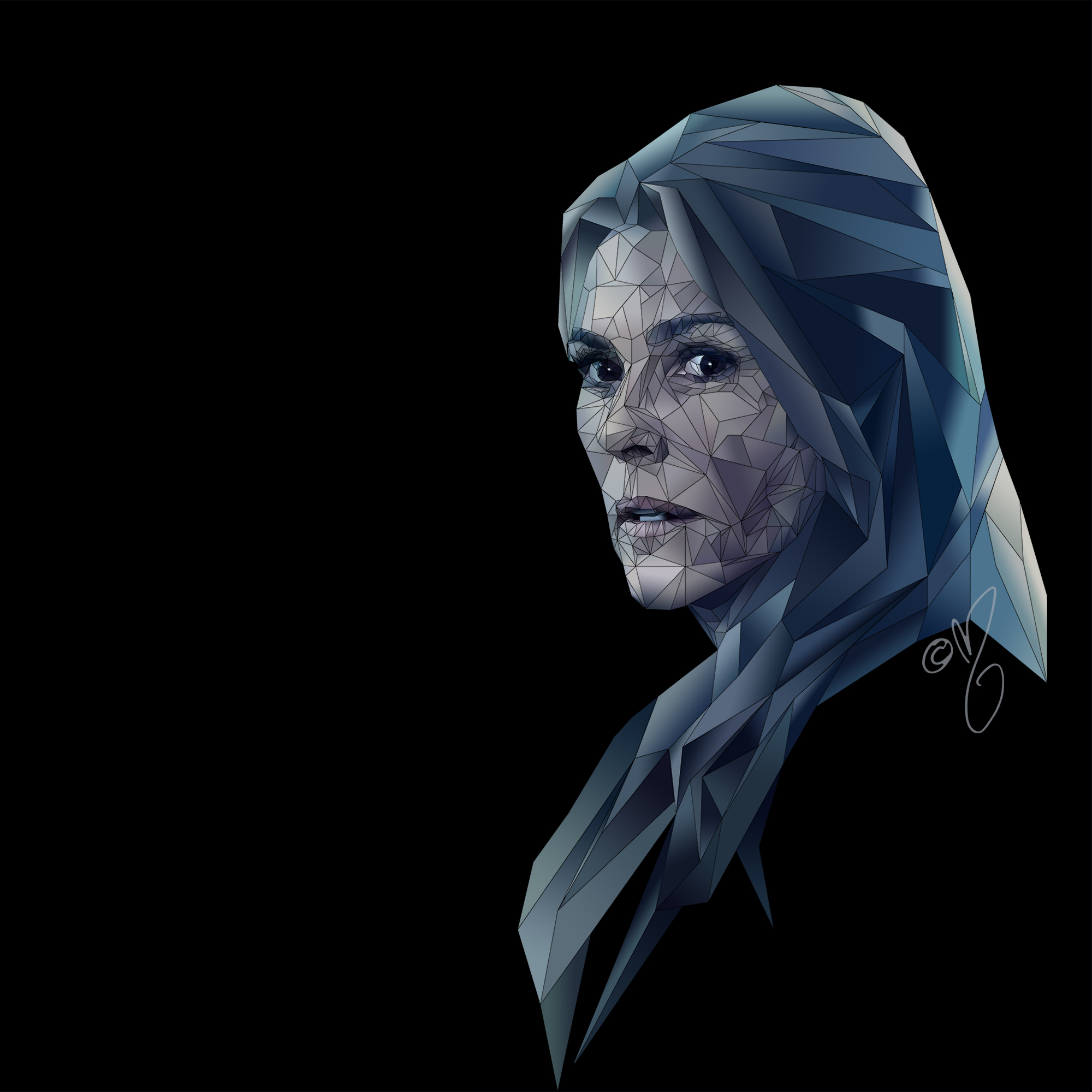 the 100 // abby griffin fanart 01